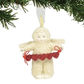 Snowbabies Angel of Hearts Hanging Ornament