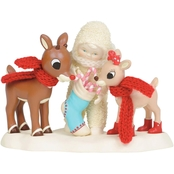 Snowbabies Sweets for Rudolph and Clarice Figurine