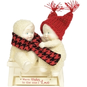 Snowbabies Warm Wishes to the One I Love Figurine