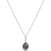 Lucky Brand Reversible Abalone Shell Pendant Necklace