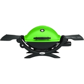 Weber Q1200 Green Grill/Table