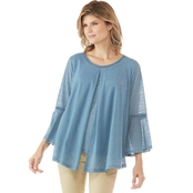 Passports Pleated Top