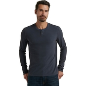 Lucky Brand Thermal Snap Notch Tee