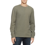 Calvin Klein Jeans Waffle Knit Pullover