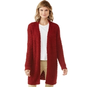 Passports Long Sleeve Cardigan