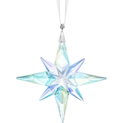 Swarovski Small Crystal Aurora Borealis Star Ornament