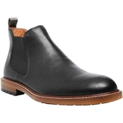 Steve Madden Men's M Mastor Double Gore Chelsea Boot swith Plain Round Toe