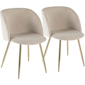 LumiSource Fran Chair 2 pk.