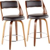 LumiSource Cecina Swivel Counter Stool 2 pk.