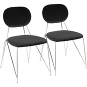 LumiSource Gwen Chair 2 pk.