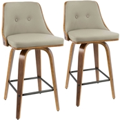 LumiSource Gianna Counter Stool 2 pk.