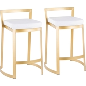 LumiSource Fuji Deluxe Counter Stool 2 pk.