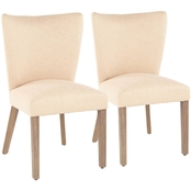 LumiSource Addison Dining Chair 2 pk.