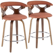 LumiSource Gardenia Counter Stool 2 pk.