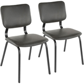 LumiSource Foundry Chair 2 pk.
