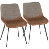 LumiSource Outlaw Two Tone Chair 2 pk.
