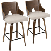 LumiSource Ariana Counter Stool 2 pk.