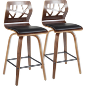 LumiSource Folia Counter Stool 2 pk.