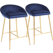 LumiSource Matisse Counter Stool 2 pk.
