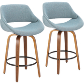 LumiSource Fabrico Counter Stool 2 pk.
