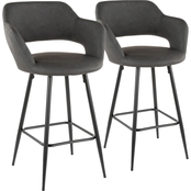 Margarite Counter Stool - Set of 2