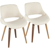 LumiSource Fabrico Dining Chair 2 pk.