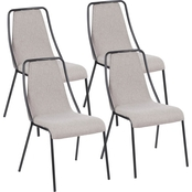 LumiSource Katana Contemporary Chair 4 pk.