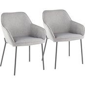 LumiSource Daniella Dining Chair 2 pk.