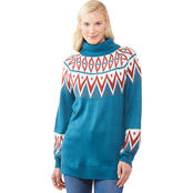 JW Fair Isle Sweater Tunic