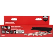 Craftsman SAE Ratcheting Box Wrench Set Steel 5 pc.