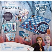 Spin Master Disney Frozen II 6 in 1 Game