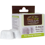 Cafe Pure 2 pk. Charcoal Filters by Perfect Pod