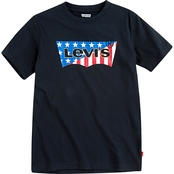 Levi's Little Boys' Americana Batwing T-Shirt