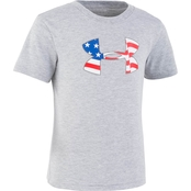 Under Armour Little Boys Flag Icon Tee
