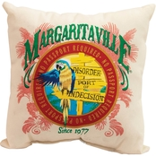 ShelterLogic Margaritaville Port of Indecision Throw Pillow 2 pk.