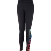 ADIDAS LINEAR FADE TIGHT Adi Black
