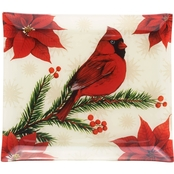 Pfaltzgraff Holiday Wintertime Birds Platter