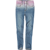 Levi's Girls 720 High Rise Super Skinny 4 Way Stretch Denim Jeans