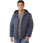 GUESS light weight puffer with hood