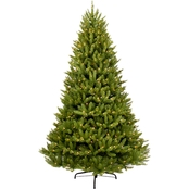 Puleo 9 ft. Pre Lit Franklin Fir Christmas Tree with 1000 Lights