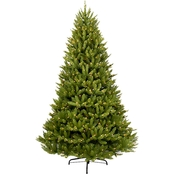 Puleo 10 ft. Pre-Lit Franklin Fir Christmas Tree with 1300 Lights