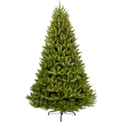 Puleo 12 ft. Pre Lit Franklin Fir Christmas Tree with 1500 Lights