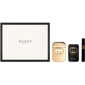 Gucci Guilty Eau De Toilette Spray 3 pc. Set