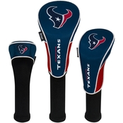 WinCraft NFL Football Golf Headcovers 3 pc. Set