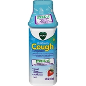 Vicks Children's Cough Congestion Berry 6 oz.