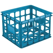 Sterilite Storage Crate Blue
