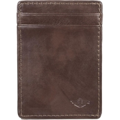 Dockers Men's RFID Card Case Wallet with Magnetic Front Pocket