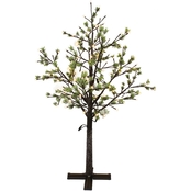 Puleo 6.5 ft.  Artificial Tree with 450 Warm White LED Lights