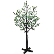 Puleo 7.5 ft. Artificial Tree with 720 Multi Color Changing LED Lights