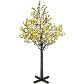 Puleo 7.5 ft. Artificial Tree with 720 White LED Lights